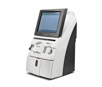 ABL80 FLEX blood gas analyzer