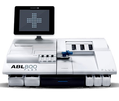 abl800 blood gas analyser