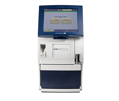 ABL90 FLEX PLUS blood gas analyser